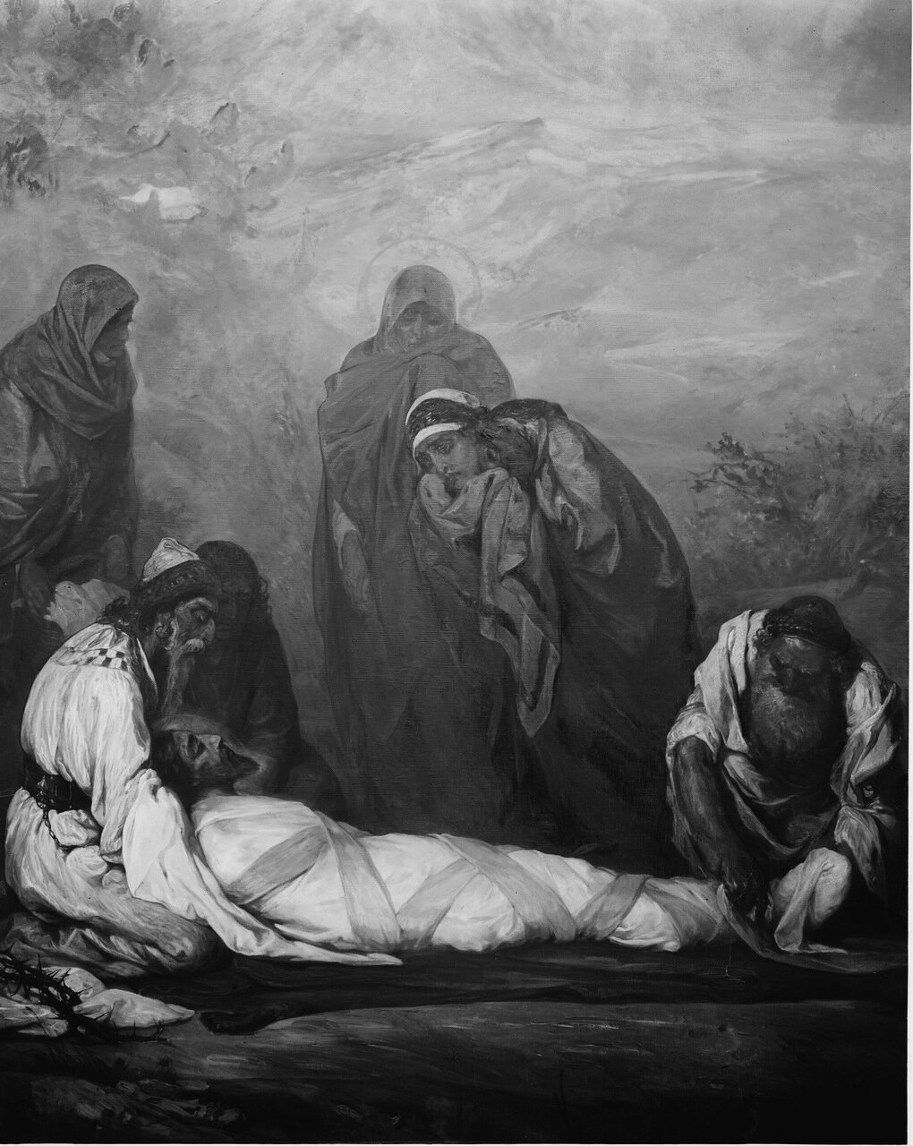 Приготовление Иисуса к погребению