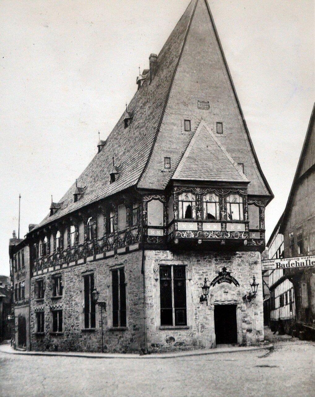 Гослар. Отель Brusttuch. 1933