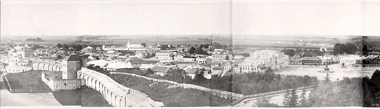Панорама города, 1883.