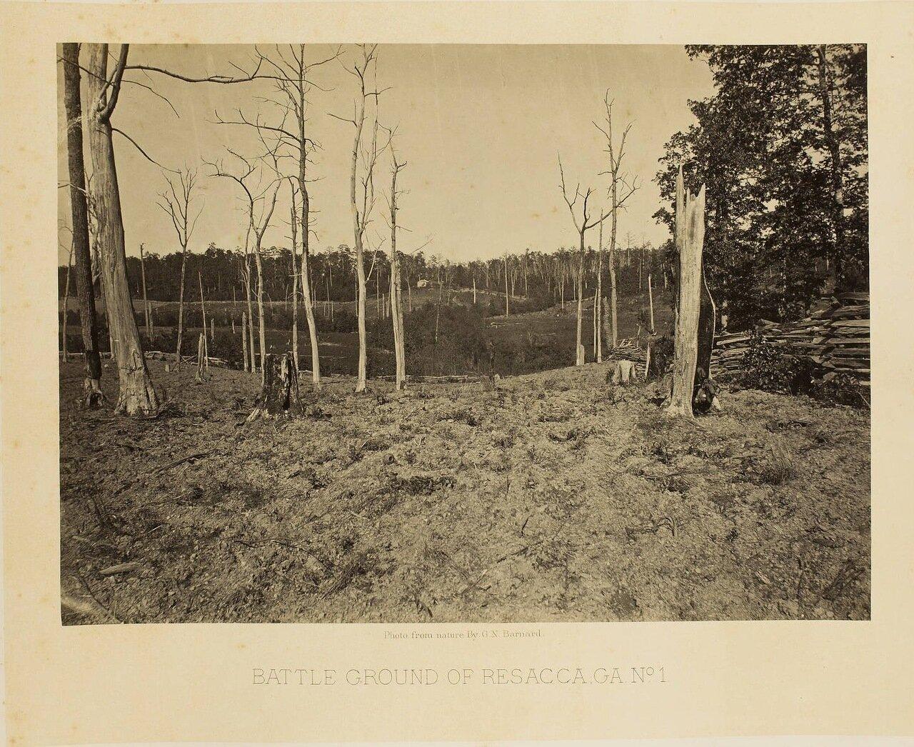 Поле битвы при Ресаке, Джорджия. №1