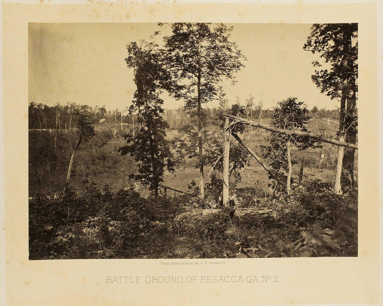 Поле битвы при Ресаке, Джорджия. №2