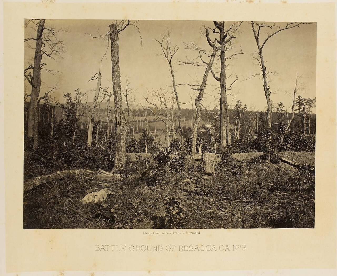 Поле битвы при Ресаке, Джорджия. №3