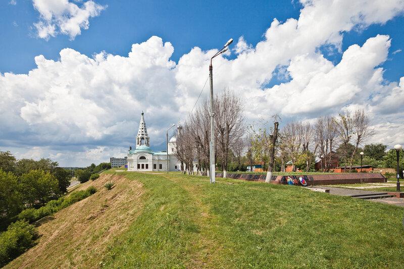 Соборная Гора (Красный холм) в Серпухове