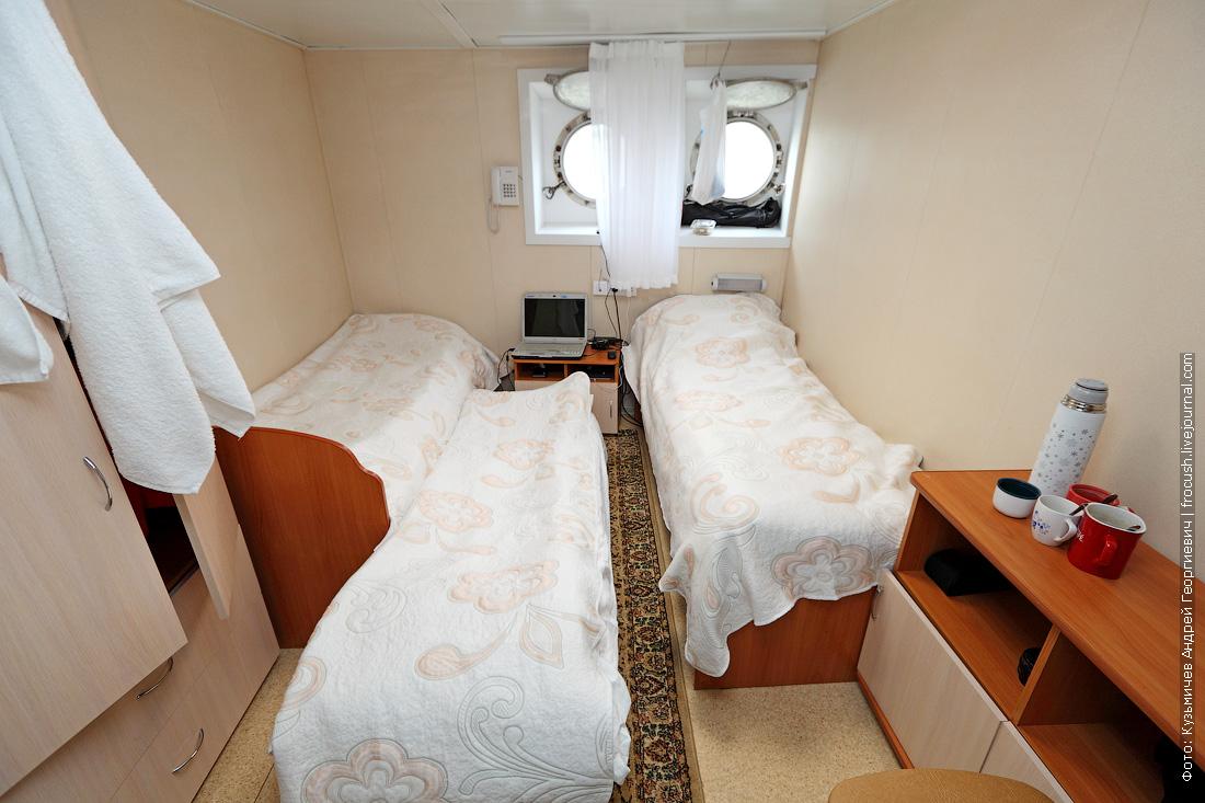 дополнительное спальное место в каюте №76 теплохода Русь Великая