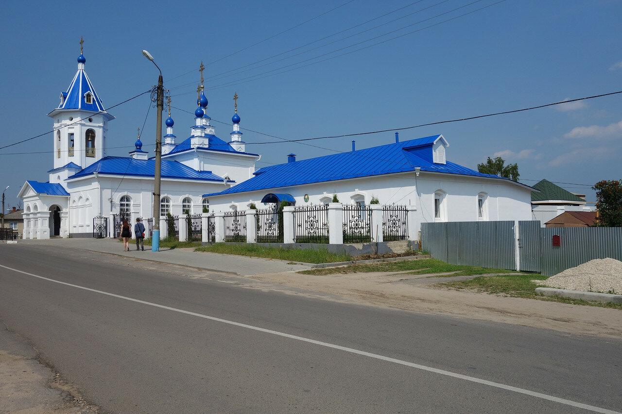 храм синий
