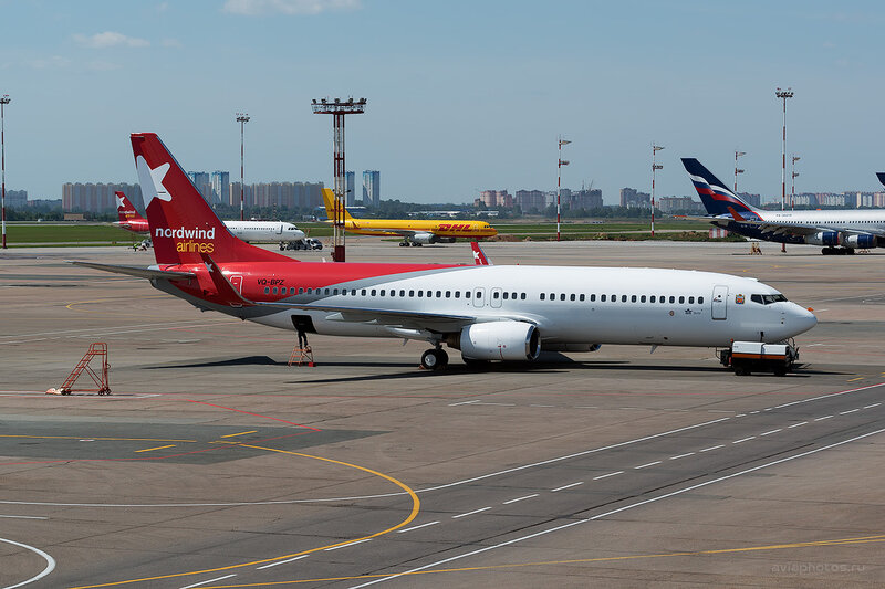 Boeing 738 (VQ-BPZ) Nordwind Airlines D805845