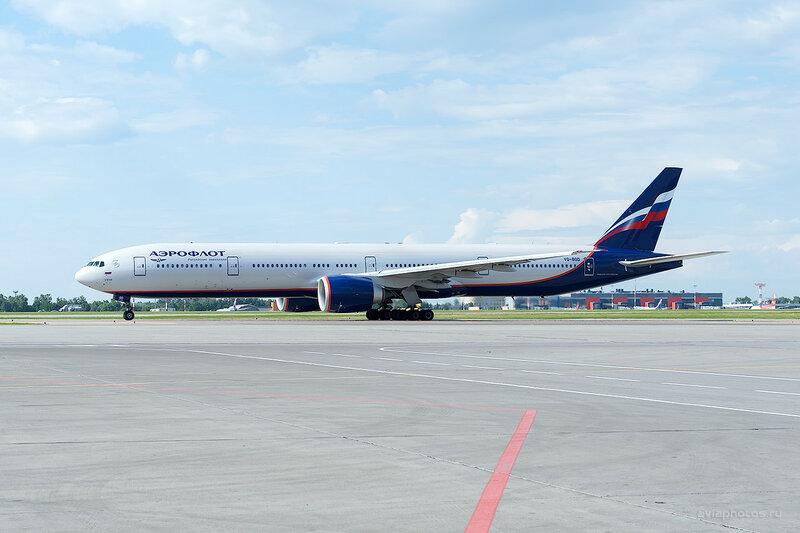 Boeing 777-3MO/ER (VQ-BQD) Аэрофлот D701221