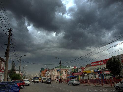 Плохая погода.