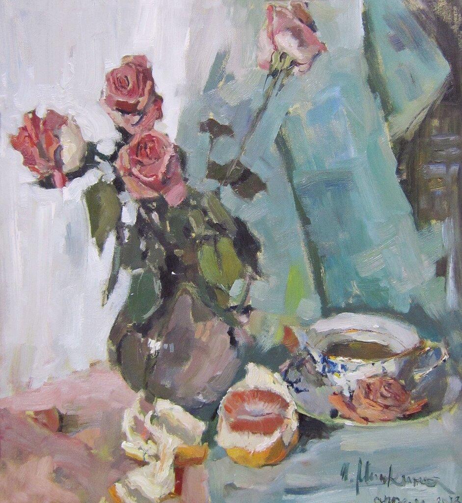 Ирина Минкина (род. в 1983 году). Розы.