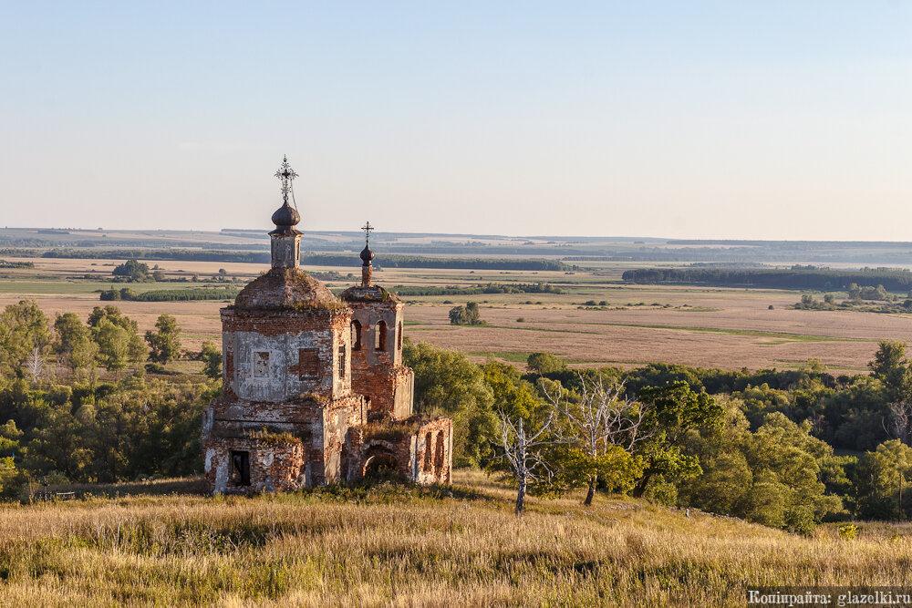 Ивановское. Церковь Иоанна Златоуста.