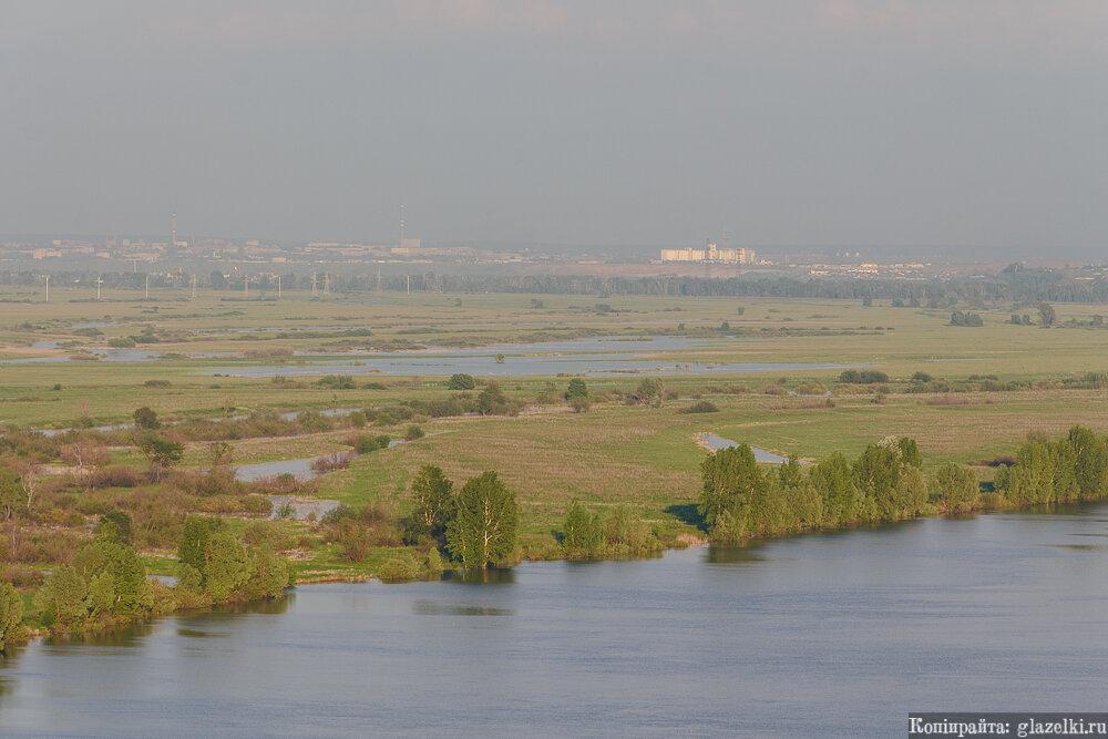 Комсомольский район Набережных Челнов и поселок Сидоровка.