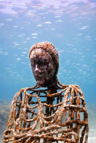 Невероятные подводные скульптуры Джейсона Тейлора