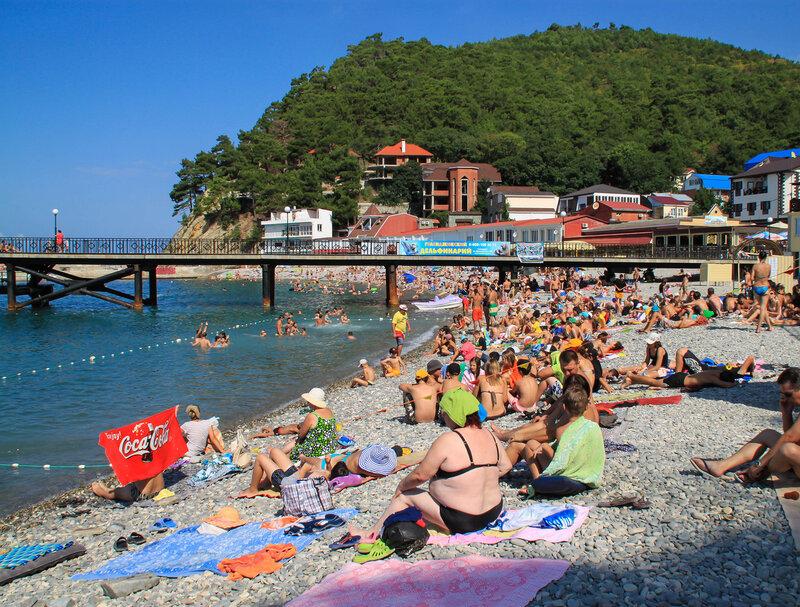 джанхот фото поселка и пляжа