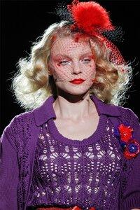Фиолетовое лето Anna Sui SS 2012- двойка спицами