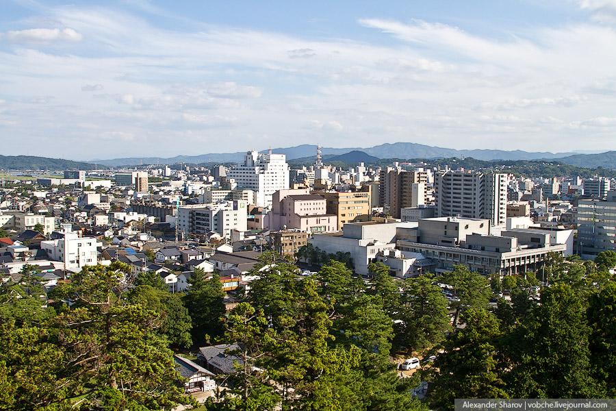 Замок самураев Мацуэ. Япония