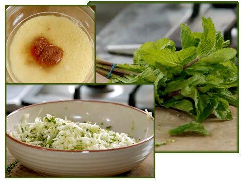 Салат с кускусом из серии Обед за 15 минут