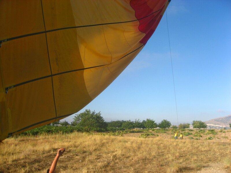 Турция. Полёт на воздушном шаре в Каппадокии - Закаты и восходы, Горы, Воздушные шары - turkey, cappadocia