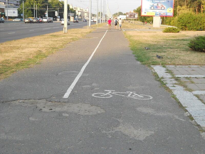 В каком состоянии велодорожки в Бресте там, где они есть