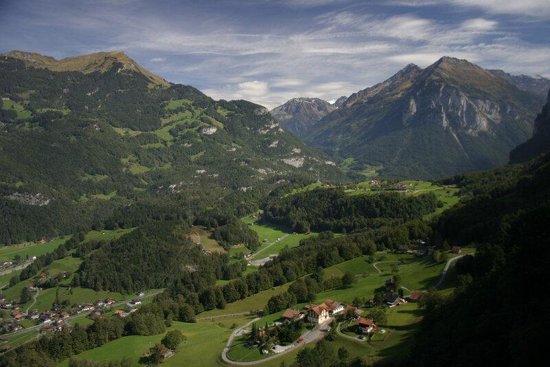 View from Reichenbachfalls