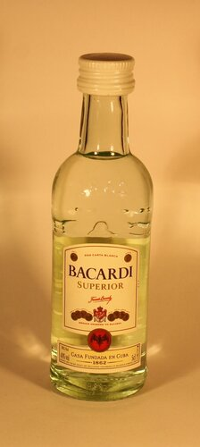 Ром Bacardi Superior Ron Carta Blanca