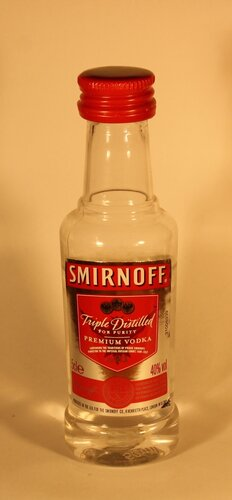 Водка Smirnoff Triple Distilled Premium Vodka