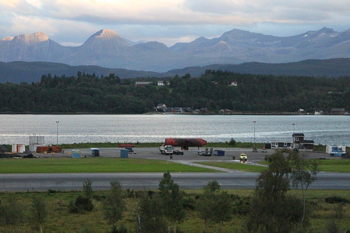 Западная Норвегия, Ромсдалфьорд. Аэропрот Молде