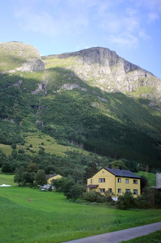 Mountains Of Western Norway. Mountain of Western Norway
