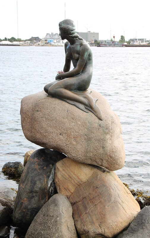 Копенгаген. Русалочка (Den Lille Havfrue)