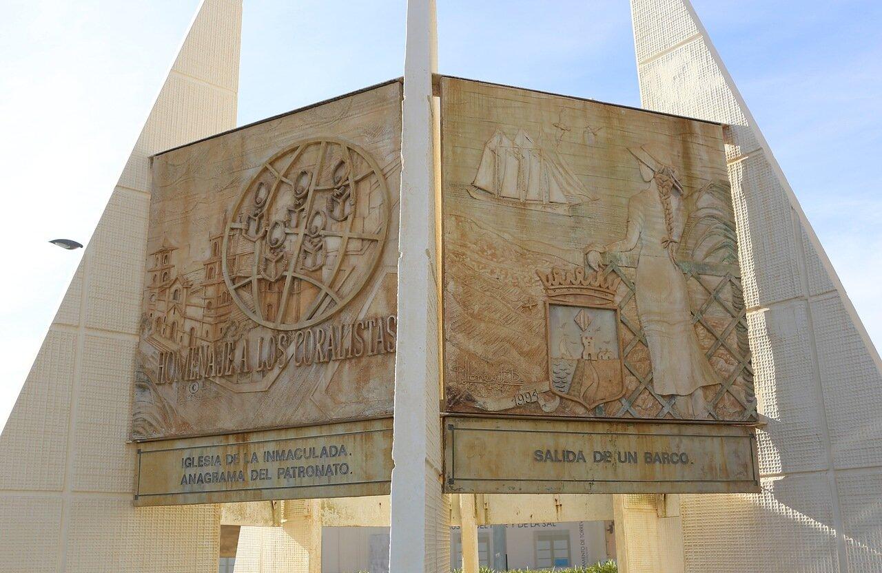 Торревьеха. Памятник Хоралистам (Monumento al Coralista)