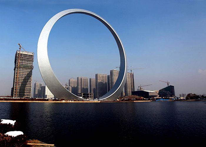Ring of Life / Кольцо жизни. Ещё раз о китайских небоскрёбах