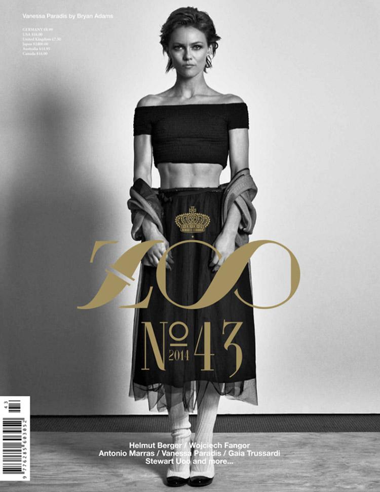Ванесса Паради для Zoo Magazine