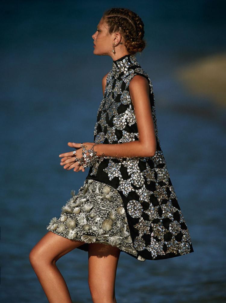 Кэтрин МакНил (Catherine McNeil) в журнаде Vogue Australia