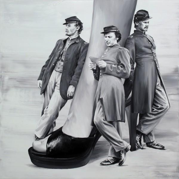Сюрреалистические картины в винтажном стиле
