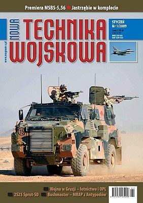 Книга Nowa Technika Wojskowa 2009 No 1