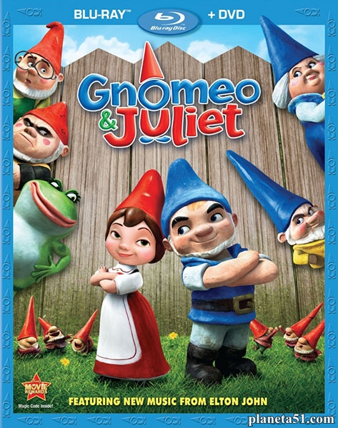 Гномео и Джульетта / Gnomeo & Juliet (2011/BDRip/HDRip)