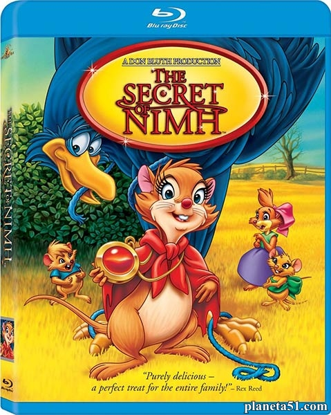 Секрет Н.И.М.Х. / The Secret of NIMH (1982/HDRip)