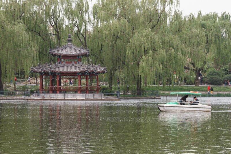 Парк Таожаньтин, Пекин
