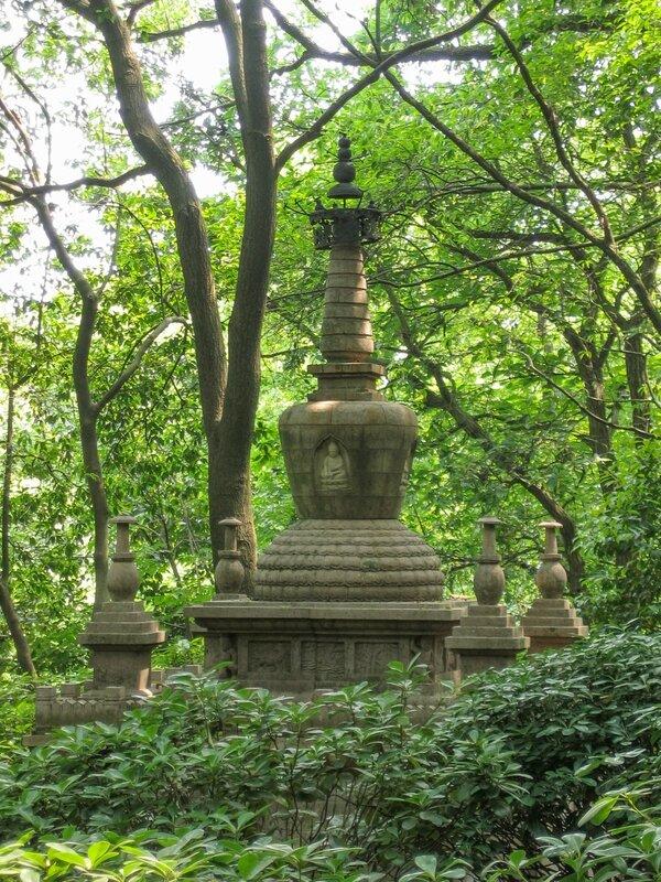 Копия ступы, Сад пагод, Люхэта, пагода Шести гармоний, Ханчжоу