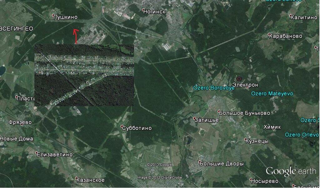 Программа «Google Earth»