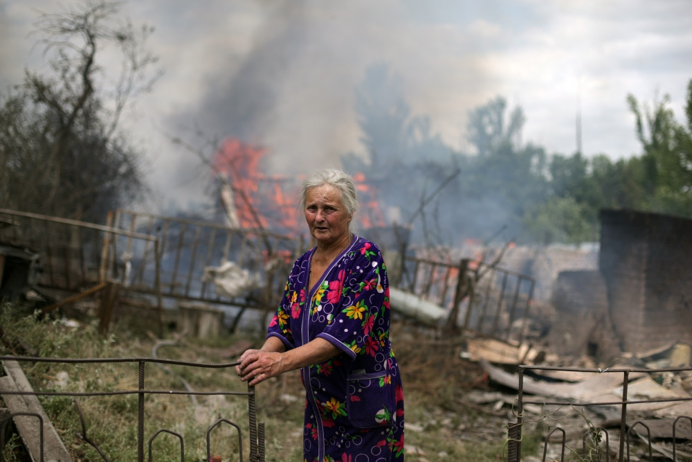 2 июля 2014 - Последствия ударов украинских силовиков по Краматорску и поселкам Луганской области 3.jpg