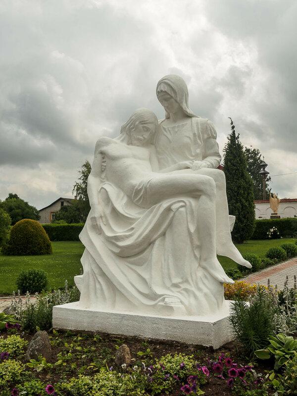 """""""Оплакивание Христа"""", копия работы Микеланджело."""