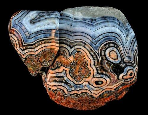 Соль земли! Потрясающей красоты минералы. Агат