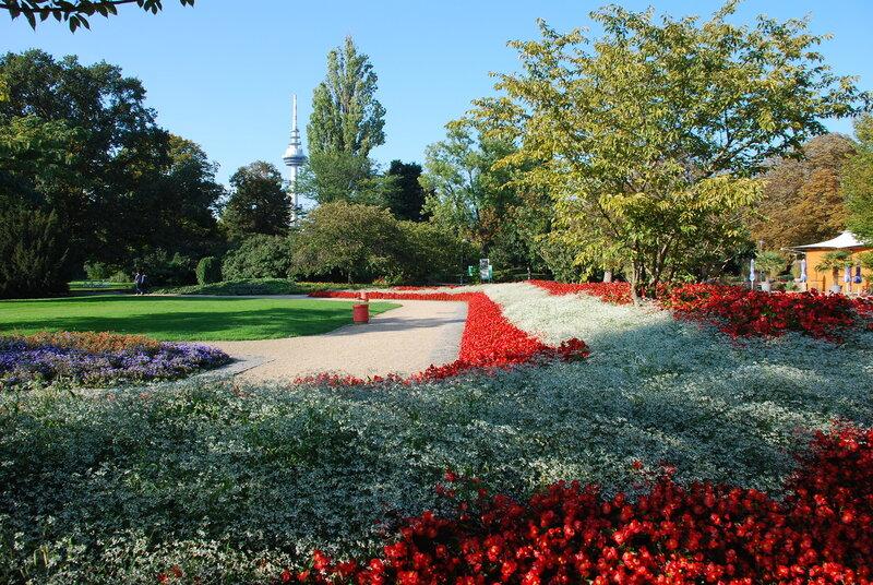 Мангейм. Луизен парк.Германия.