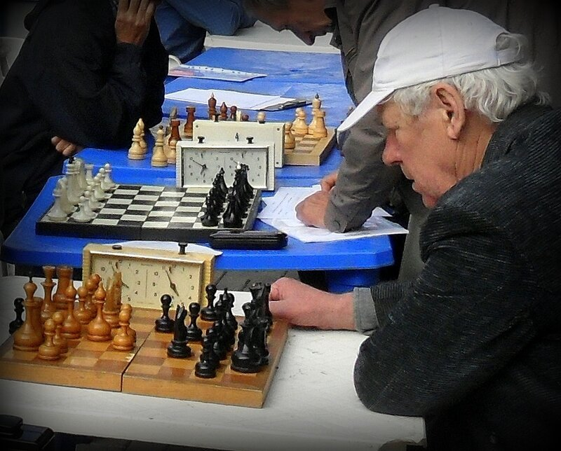 В память о шахматисте...