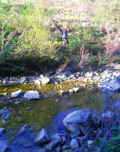 Переход через реку, и на склон ... SAM_4096.JPG