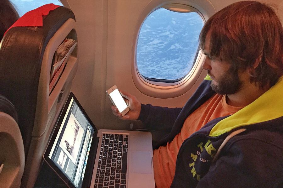 Бесплатный интернет на борту самолета
