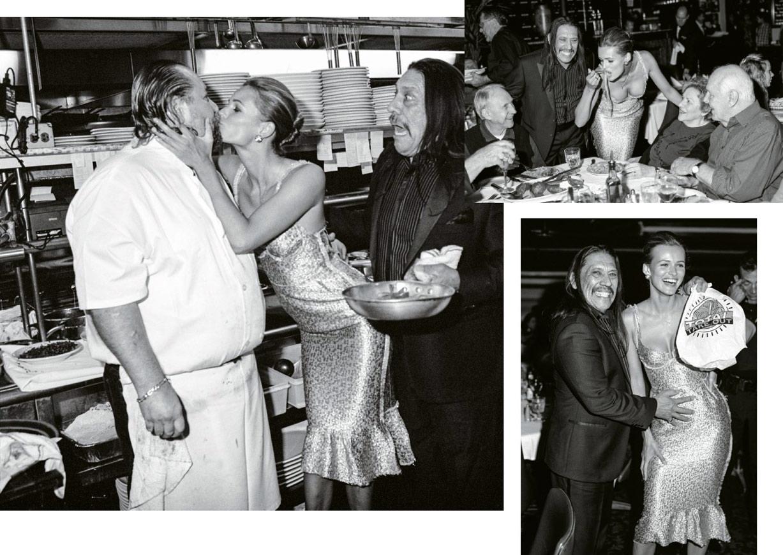 Дэнни Трехо и Эдита Вилкевичуте / Edita Vilkeviciute & Danny Trejo by Bruce Weber in Le magazine du Monde march 2014
