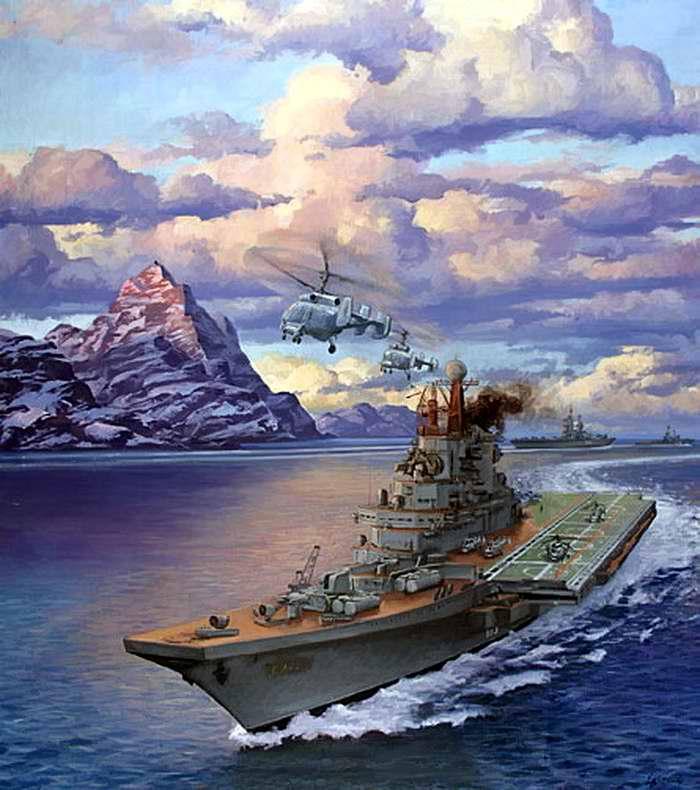 На страже морских рубежей (Евгений Корнеев, 2004 год)