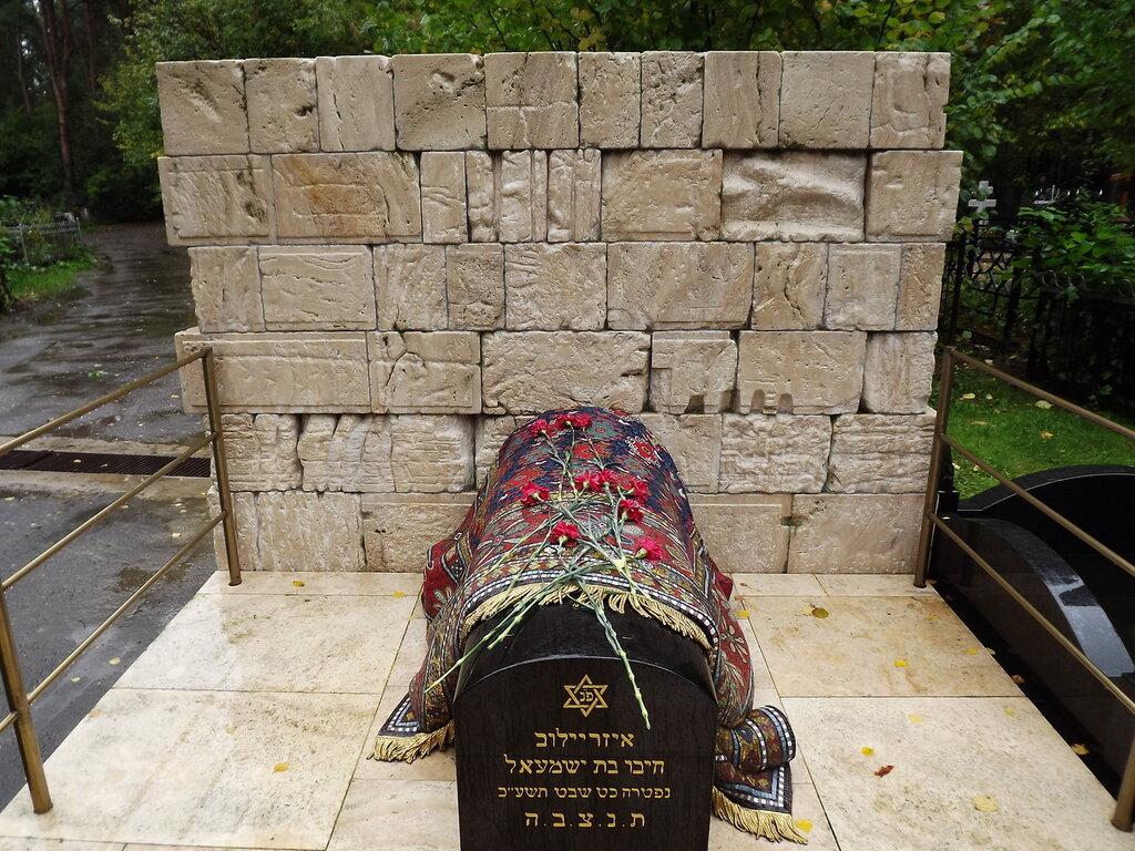 Еврейский участок востряковского кладбища, москва