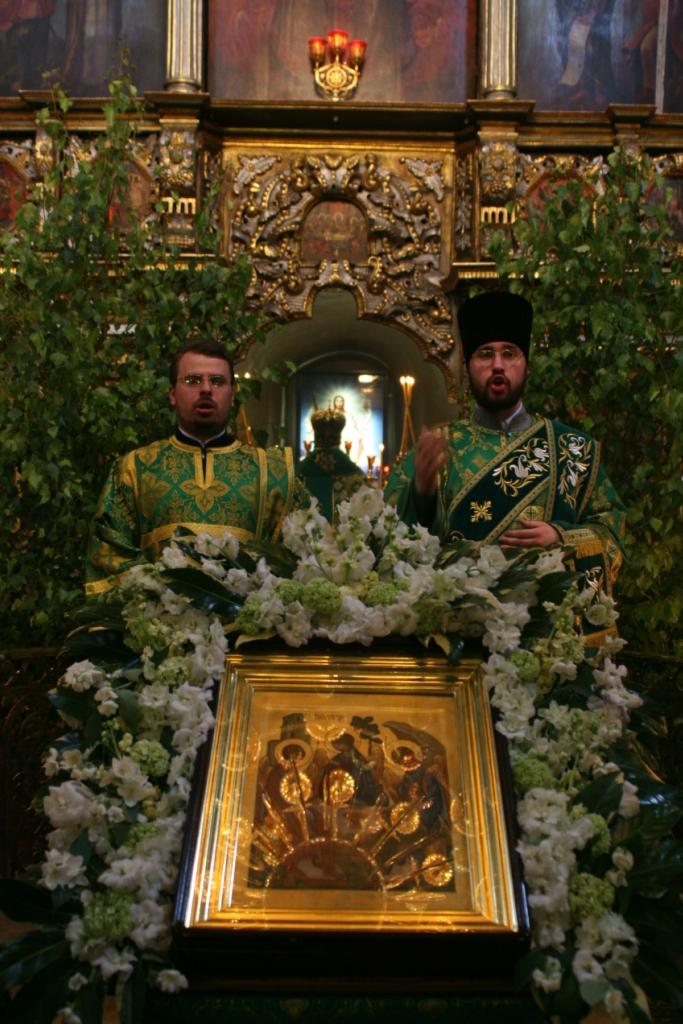 День Святой Троицы. Пятидесятница. 2013 Останкино